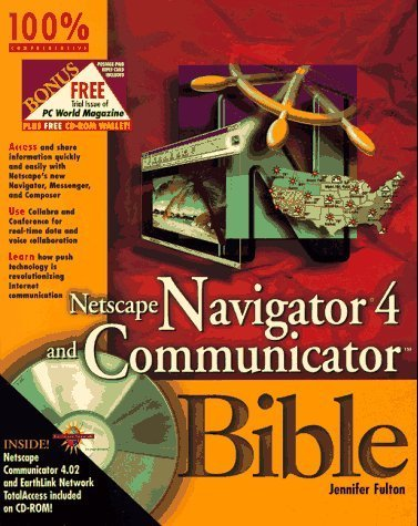 netscape-navigator-4-and-communicator-bible-by-fulton-jennifer-1997-paperback