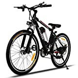 ANCHEER Electric Mountain Bike, E-bike Citybike Commuter bike with 36V Removable Lithium Battery
