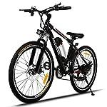 ANCHEER Bicicletta Elettrica Pieghevole Bici da Montagna Ebike con Batteria al Litio da 26 Pollici Grande capacità 36V…