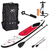 Guaranteed4Less XQMax Sports Paddle Surf Board Inflatable Stand Up SUP Bag Pump Oar