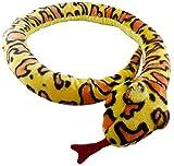 Animal Planet 67 Inch (170cm) Extra Large Plush Yellow Snake - Soft Toys - Stuffed Animals - Animal Planet - amazon.co.uk