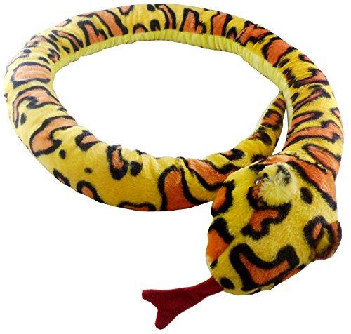 Animal Planet 67 Zoll (170cm) Extra Large Plüsch Gelb-Schlange - Plüschtiere - Kuscheltiere