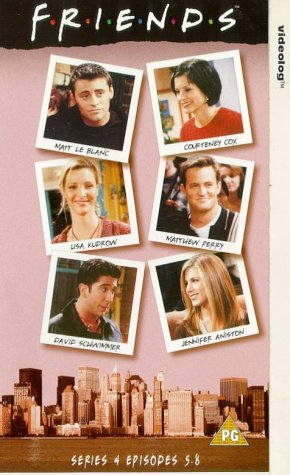 Click for larger image of Friends - Series 4 Episodes 5-8 [VHS] [1995]
