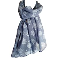 Mulberry Tree Print Scarf Womens Lightweight Fashion Large Wrap