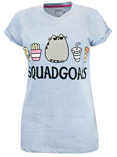 Pusheen - Maglietta a maniche corte - Pusheen it gatto - Donna - X-Large