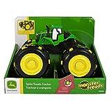 John Deere Tomy Monster Treads Spike Räder - Satz mit 4 ausfahrbaren Spike Reifen für Den Spielzeugtraktor Monster Treads – Zum Spielen und Sammeln – ab 3 Jahren