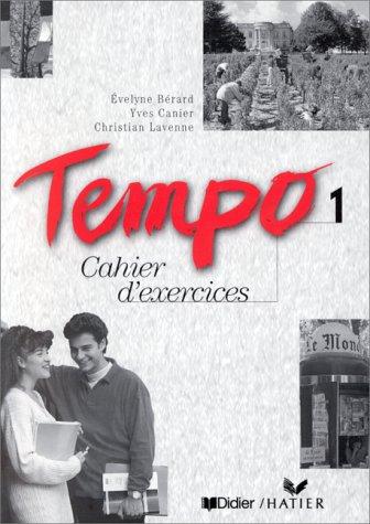 Tempo, 1 : Méthode de français (Cahier d'activités)