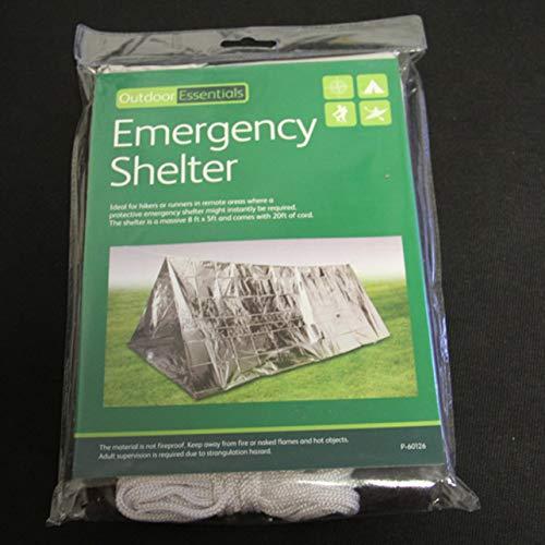 Heaviesk Notunterkunftszelt Ultraleichtes tragbares Camping-SOS-Notunterkunftszelt für den Außenbereich Emergency Beacon