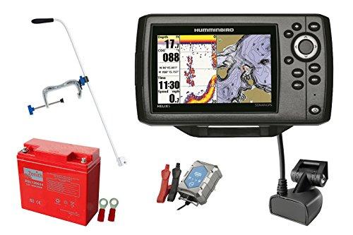 Humminbird Helix 5 CHIRP GPS G2 Echolot (83/200 kHz) Portabel-Set XXL-3