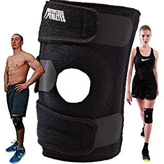 Knee brace for arthritis, ACL and meniscus tear: Best kneepad support for running, walking, cycling, basketball, gardening and knee safety: e-book included