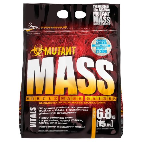 Lean Gainer (Pvl Mutant Mass Cookies & Cream 6800g)