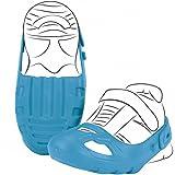 Bobby Car Schuhschoner mit Klettverschluß Blau für Schuhgröße 21-27 • Schuh Schoner Schuhschützer Größe Rutscher