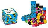 Happy Socks, Andy Warhol Geschenk Set (4er Pack) - Andy Warhol, EU 41-46 Medium/Large