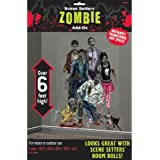 Halloween Zombies Scene Setter Add-Ons Plastic Decorations 1.65m X 85cm