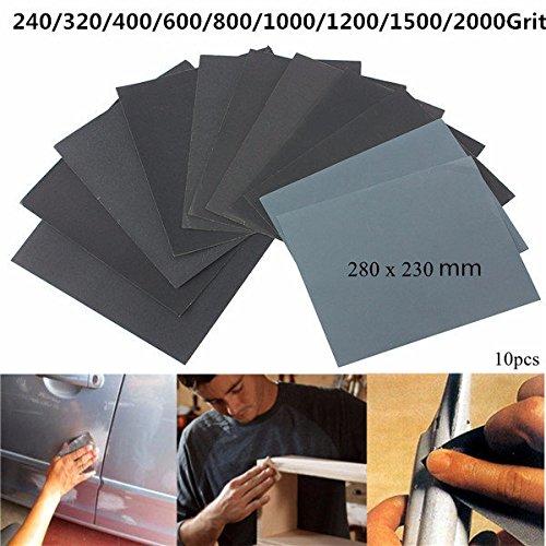 lelantus-10-stuck-230mm-x-280mm-siliziumkarbid-wasserdichte-schmirgelpapier-240-2000-grit-schleifbla