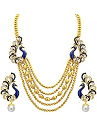 Sukkhi Wedding Collection Jewellery Sets for Women (Golden) (2913NGLDPP1700)