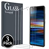 Ferilinso Verre Trempé pour Sony Xperia 10 Plus, [3 Pièces] Screen Protector Film Protection écran Glass Screen Protector Vitre Tempered