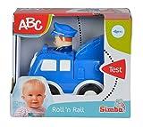 Simba 104014228 - ABC Press 'n Go Auto 11 cm, 2-sort.