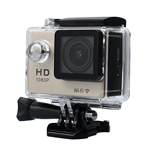 Hanbaili WIFI Wasserdichte Sport Action Kamera Full HD 1080 P Video Fahrradhelm Sport HD DV Camcorder (Ir Wasserdichte Video)