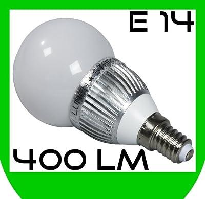 LUMENSTAR SMD LED Lampe E14 warmweiß,(6 Watt ca. so hell wie 50 Watt Glühlampe) Birne