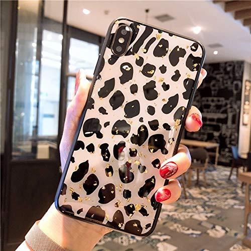 Phone CASE Home Epoxy Huawei / 3 / 2s-Handyschale p30 mit weichem Leopardenmuster (Size : Huawei P30pro) -
