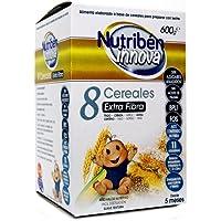 Nutriben innova papilla de 8 cereales extra fibra, 600gr.