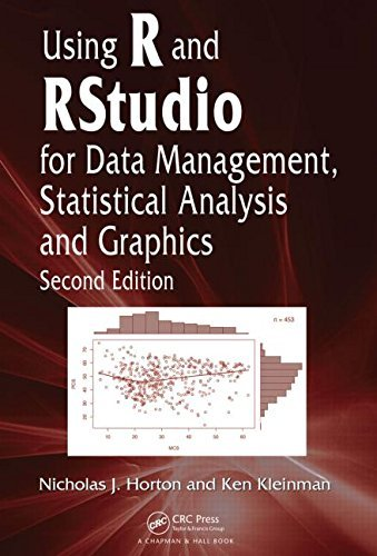 Using R and RStudio for Data Management, Statistical Analysis, and Graphics, Second Edition by Nicholas J. Horton (27-Apr-2015) Hardcover