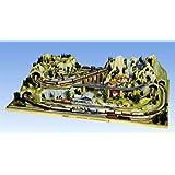 NOCH 80100 - Fertiggelände Silvretta, 220 x 140 x 52 cm, bunt