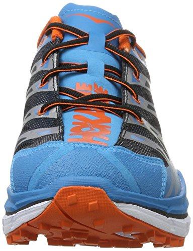 Hoka One Herren Speedgoat Traillaufschuhe Blau (Blue/red Orange)