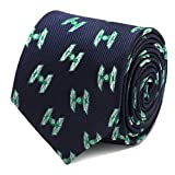 Corbata Star Wars Tie Fighter Green and Navy
