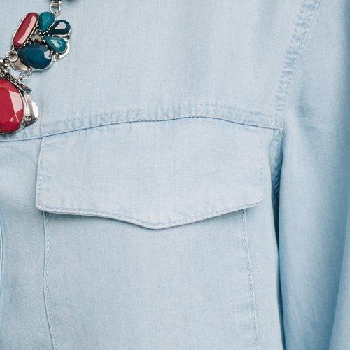 Promod Chemise en jean Femme Jean clair