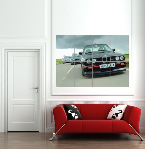M3 BMW E30 CAR AUTOMOBILE COOL BLACK MOTOR DRIVING SPORT GIANT ART PRINT WALL POSTER PLAKAT DRUCK PRINT B1118 (Classic Car Motor Oil)