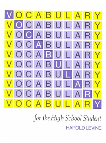 Vocabulary for the High School Student por Norman Levine