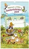 Pettersson & Findus - Familienkalender 2019 für 5 Personen - Sven Nordqvist - Oetinger-Verlag - Kalender mit 5 Spalten zum Eintragen - 27 cm x 45 cm