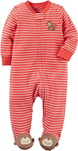carters-baby-boys-monkey-crawl-footed-coverall-coral-3-months