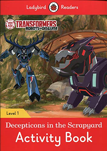TRANSFORMERS: DECEPTICONS IN THE...ACTIVITY (LB) (Ladybird)