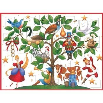 Caspari Advent 12 Days of Christmas