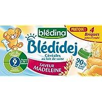 Blédina Blédidej Saveur Madeleine dès 9 Mois 4x250ml - lot de 3