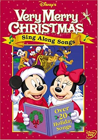 Disney's Sing Along Songs - Very Merry Christmas Songs [DVD]