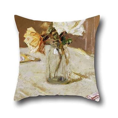 Bestseason le Slimmingpiggy confortable Lit Paralysée Fleur dans un vase 50,8x 50,8cm Taie d'oreiller Housses de coussin du, 50,8x 50,8cm/5050cm de décoration, cadeau pour GF, assise, Wife, enfants filles, salle à manger R