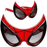 Unbekannt 3D Effekt - Sonnenbrille - Spider-Man - 3 bis 12 Jahre - 100 % UV Schutz - UV 400 - polarisiert verspiegelt / extrem stabil - Brille - für Kinder Jungen - Kin..