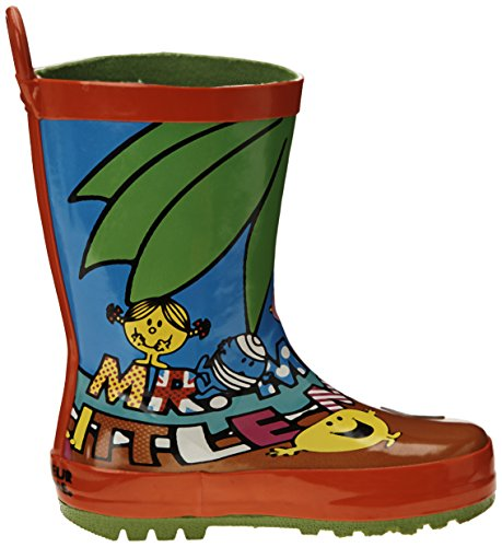 Be Only Mr Mme Beach, Bottes de Pluie mixte enfant Multicolore (Multi)
