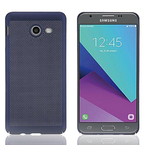 Coque Samsung Galaxy A3 2017 TPU Silicone Case,Vandot 3in1 Samsung A3 A320 2017 TPU Clair transparent Etui avec Bling Sparkle Cristal Rhinestone Coque Briller Diamont Strass Housse Extrêmement Mince L Heat dissipation-Bleu