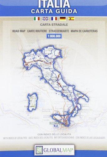 Italia. Carta globale 1:800.000 (Carte stradali)
