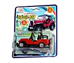 """Detailed Design for a Fun Playtime. The Centy Mahindra Jeep toy is truly an aesthetically designed car which features intricate detailing. From the trademark front rail guard to the interiors and even the roll cage, everything is meticulously constr..."
