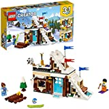 LEGO Creator 3in1 Modular Winter Vacation Building Blocks for Kids 7 to 12 Years (374 Pcs) 31081