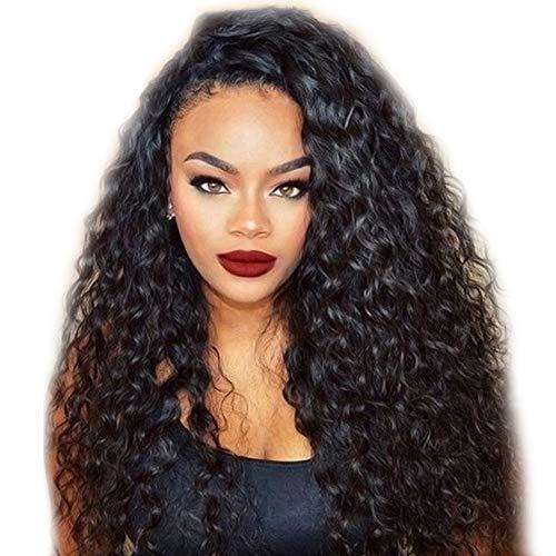 Frontal Perücke Kappe Mit Baby-Haar-Körper-Welle Brasilianisches Jungfrau-Haar 100% Unverarbeitete Menschenhaar-Perücken Für Schwarze Frauen 150% Dichte 12-26 Zoll,18INCH ()