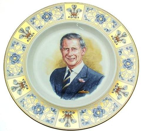 Royal Doulton 60E anniversaire Prince Charles Pn356–Édition limitée de seulement