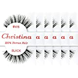 Christina 100% Human Hair False Eyelashes (#415-6Pack) by Christina