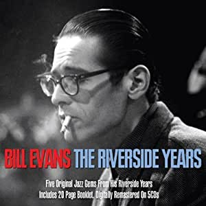 The Riverside Years [5CD box set] by Bill Evans (2012) Audio CD